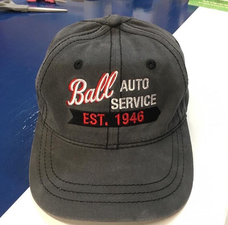 Ball Auto Service Cap